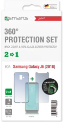 4smarts 360 protection set limited cover for samsung galaxy j6 2018 clear photo