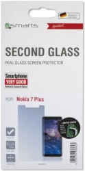 4smarts second glass limited cover for nokia 7 plus photo