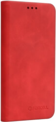 forcell silk flip case stand for samsung galaxy s9 red photo