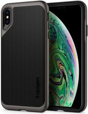 spigen neo hybrid back cover case for apple iphone x xs gunmetal photo