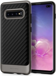 spigen neo hybrid back cover case for samsung galaxy s10 plus gunmetal photo