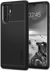 spigen rugged armor back cover case for huawei p30 pro black photo