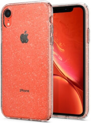 spigen liquid crystal back cover case for apple iphone xr glitter crystal photo
