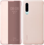 huawei 51992862 flip view cover for p30 pink photo