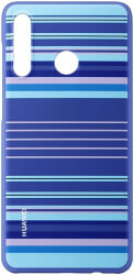 huawei 51993075 polycarbonate cover for p30 lite striped blue photo