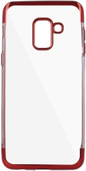 plating soft tpu back cover case for xiaomi redmi note 5a red photo