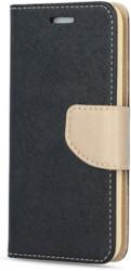 smart fancy flip case for xiaomi redmi 5 plus black gold photo