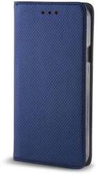 smart magnetic flip case for huawei p30 lite navy blue photo