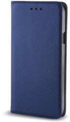 smart magnetic flip case for samsung j4 plus navy blue photo