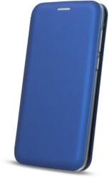 smart diva flip case for motorola one navy blue photo