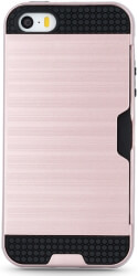 defender card back cover case for apple iphone x iphone xs rose gold photo