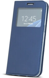 smart look flip case for huawei mate 10 lite navy blue photo