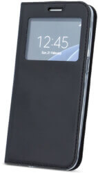 smart look flip case for huawei y6 2018 black photo
