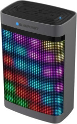 blaupunkt bt07led portable bluetooth speaker with fm radio and mp3 player photo