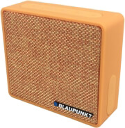 blaupunkt bt04or portable bluetooth speaker with fm radio and mp3 player orange photo