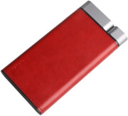 puridea powerbank leather 13000mah fast charge type c red photo