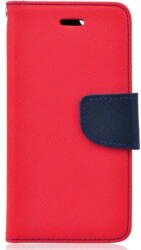 fancy book flip case for samsung galaxy s10 red navy photo