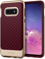 spigen neo hybrid back cover case for samsung s10e s10 lite burgundy photo