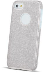 glitter 3in1 back cover case for samsung s10 plus silver photo