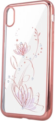 lotus back cover case for samsung s10e rose gold photo