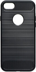 forcell carbon back cover case for huawei y7 2019 black photo