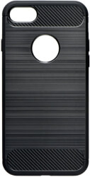 forcell carbon back cover case for samsung galaxy a10 black photo