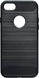 forcell carbon back cover case for xiaomi redmi note 7 black photo