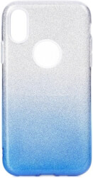 forcell shining back cover case for huawei p30 lite clear blue photo
