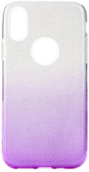 forcell shining back cover case for huawei p30 lite transparent violet photo