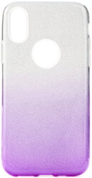 forcell shining back cover case for samsung galaxy a10 clear violet photo