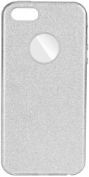 forcell shining back cover case for samsung galaxy a30 silver photo