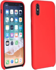 forcell silicone back cover case for samsung galaxy a30 red photo