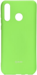 roar colorful jelly back cover case for huawei p30 lite lime photo