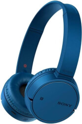 sony wh ch500 wireless headset blue photo