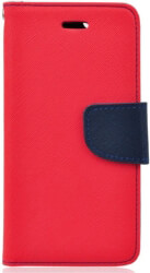 fancy book flip case for huawei honor 8x red navy photo