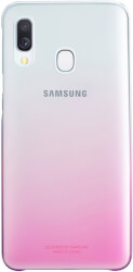 samsung gradation cover ef aa405cp for galaxy a40 pink photo