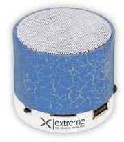 extreme xp101b bluetooth speaker fm radio flash blue photo