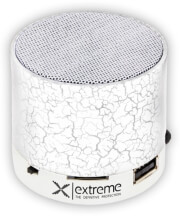 extreme xp101w bluetooth speaker fm radio flash white photo