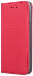 smart magnet flip case for huawei y7 2019 red photo