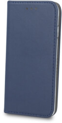 smart magnetic flip case for samsung a30 navy blue photo