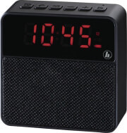hama 173167 pocket clock mobile bluetooth speaker black photo