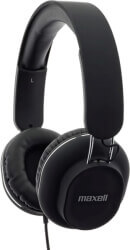 maxell classics headphones with microphone black photo
