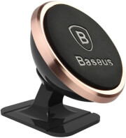 baseus car mount 360 magnetic rose gold photo