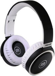maxell b52 headphones with microphone black white photo