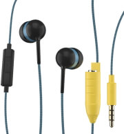 maxell eb share in ear handsfree blue photo