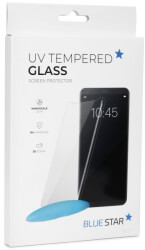 blue star uv tempered glass 9h for samsung galaxy s8 plus photo