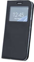 smart look flip case for sony 10 xa3 black photo
