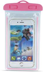 waterproof case glow 48 58 175x105mm pink photo
