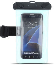 waterproof case with armband 55 blue photo