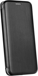 forcell book elegance flip case for huawei y7 2019 black photo